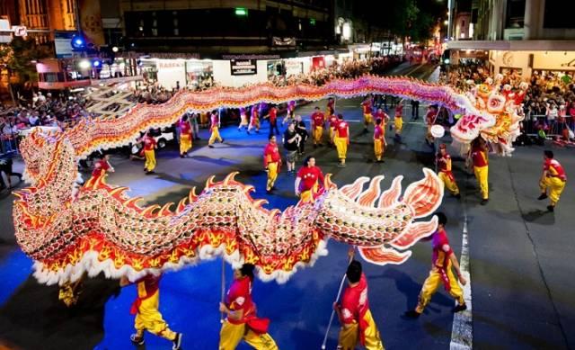 5. Çin Yeni Yıl Kutlaması