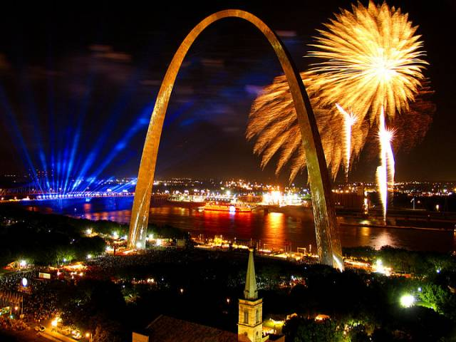 10. St. Louis Gateway Arch