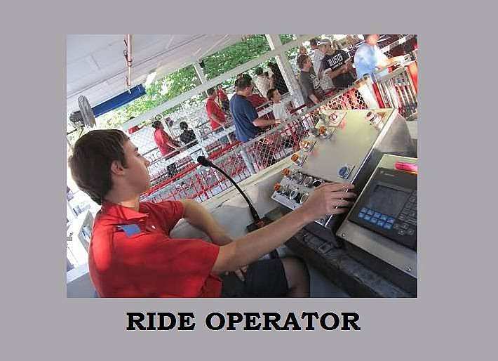 2. Ride Operator/Eğlence Makinesi Operatörü