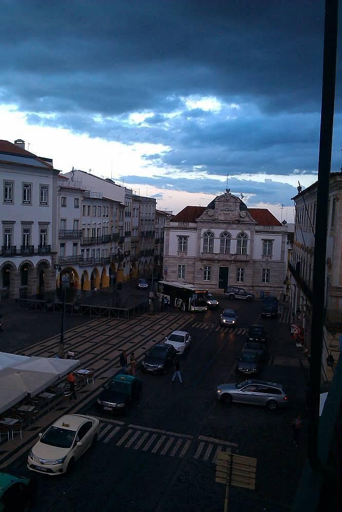 1. Portekiz'deki Evora şehrinde Erasmus'a başladım.