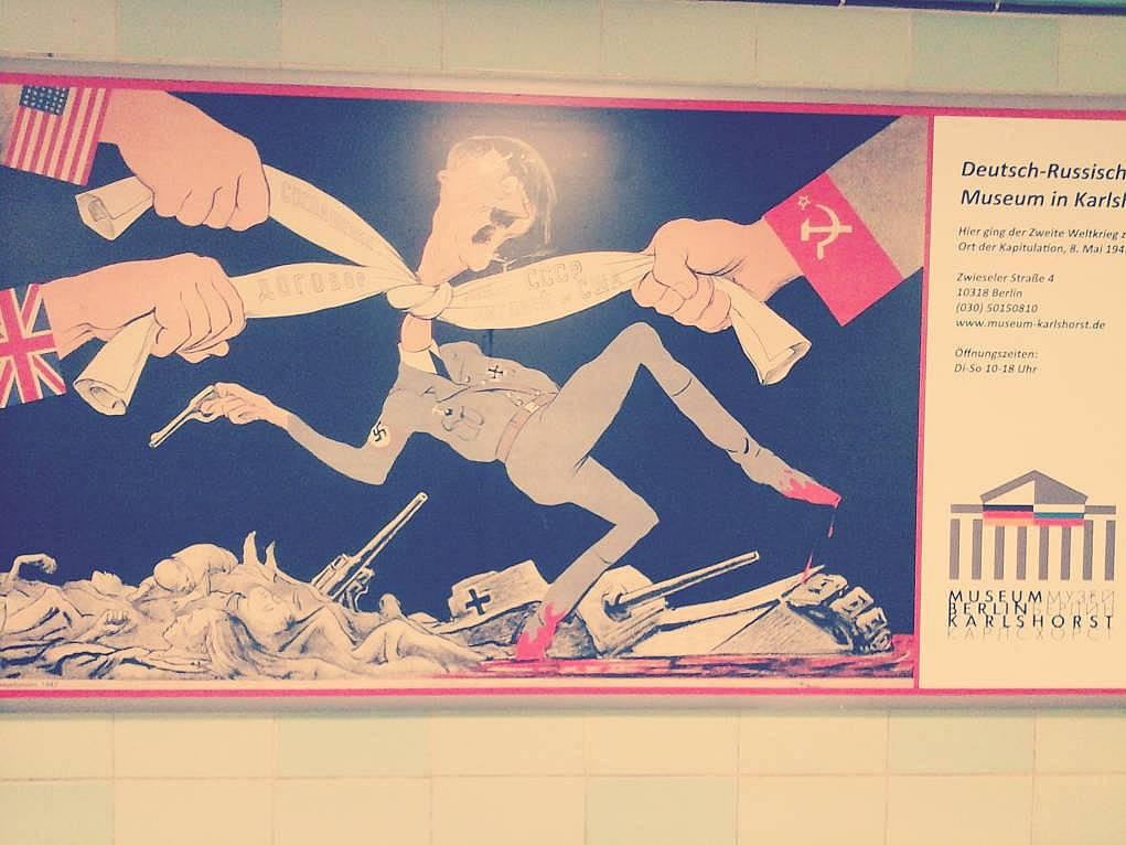 37. Almanya metro istasyonlarındaki görseller çok şey anlatıyor.