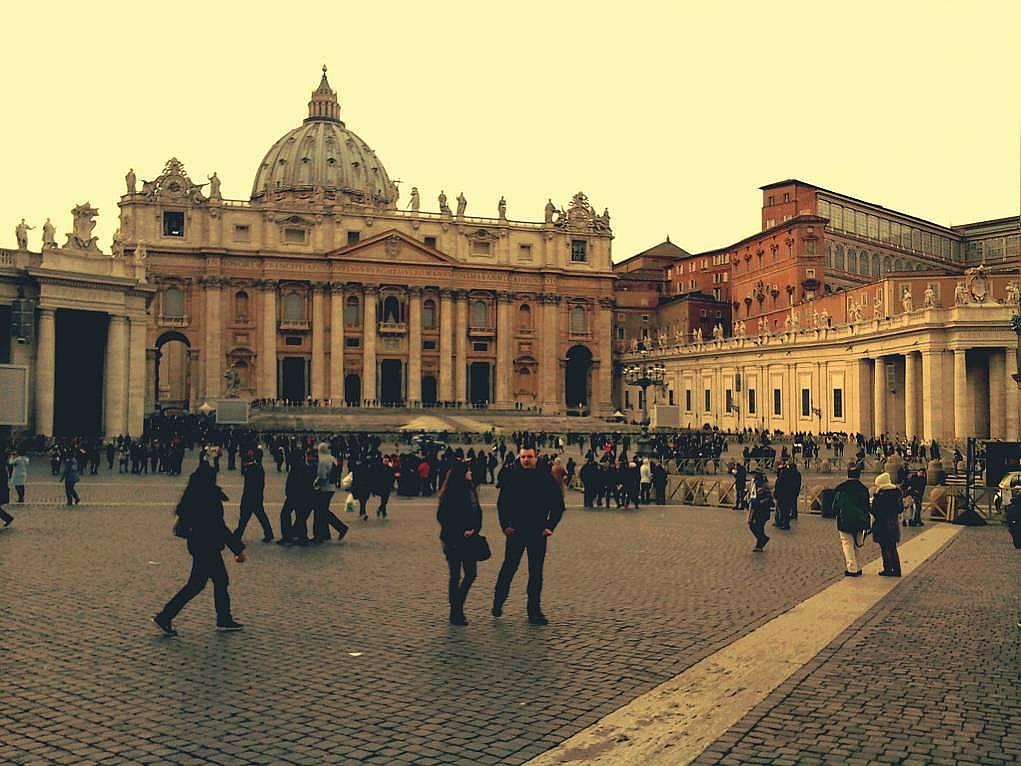 27. Ülke içinde ülke olan Vatikan. Roma'da mutlaka görülmesi gereken bir yerdir.