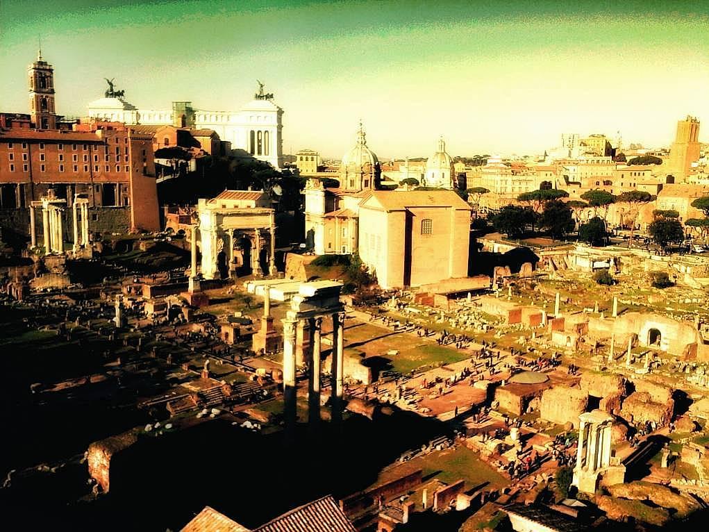 24. Zamanda yolculuk yapmak istiyorsanız Antik Roma'da bir güne ne dersiniz?