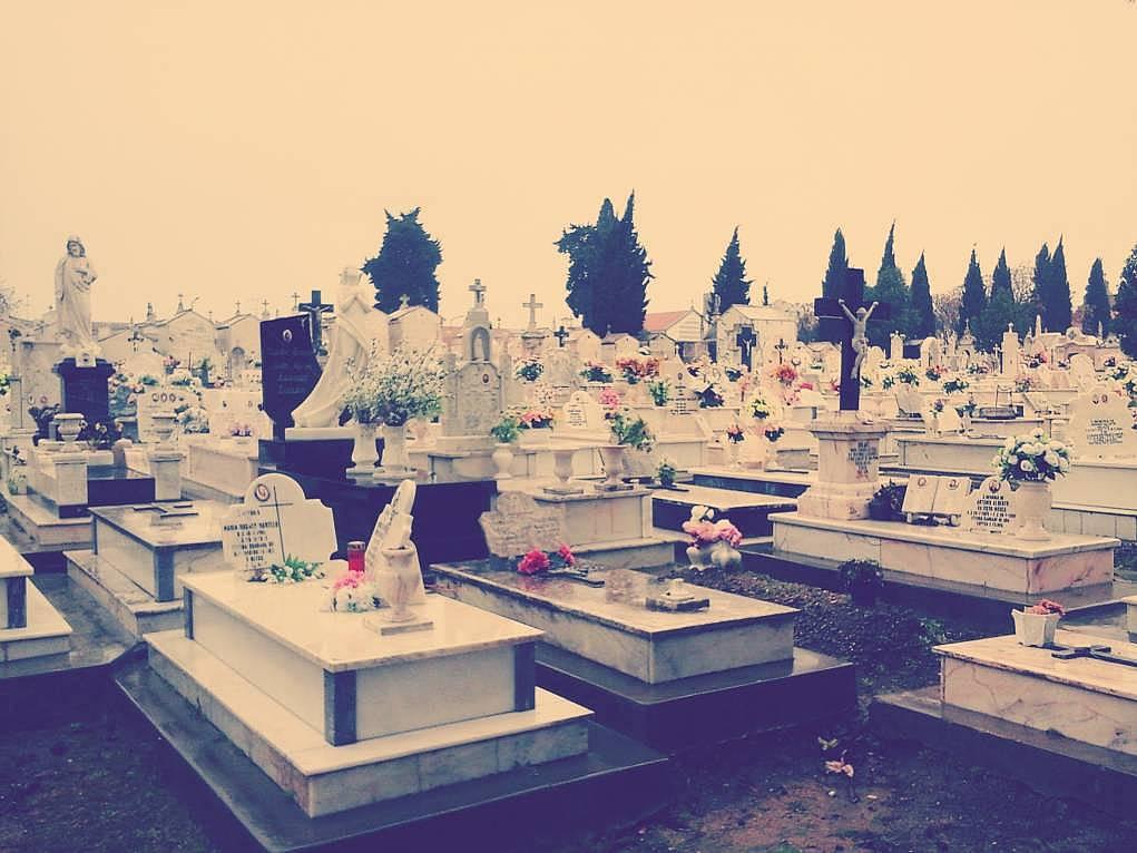 11. Hristiyan mezarlığını ziyaret edeyim dedim.