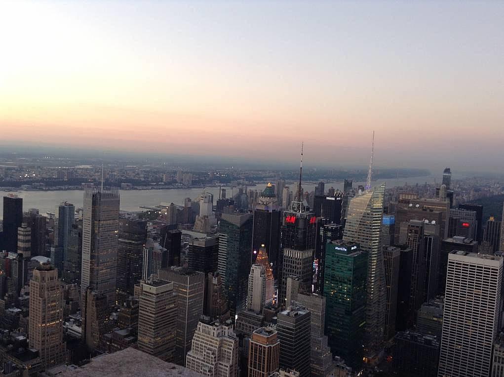5. New York'ta bulunmak, inanın rüya gibiydi.