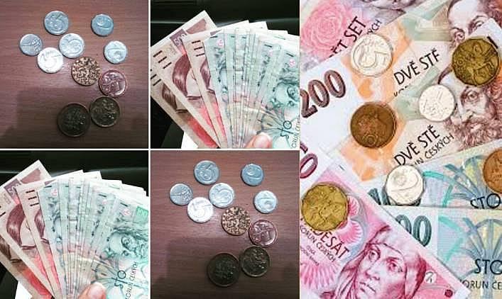 1. Para birimi Çek Kronu'dur.