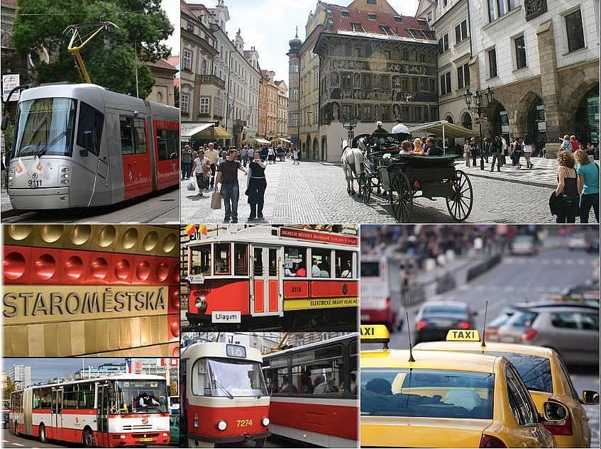 4. Gelişmiş ulaşım olanaklarından Prague Card ile faydalanın.