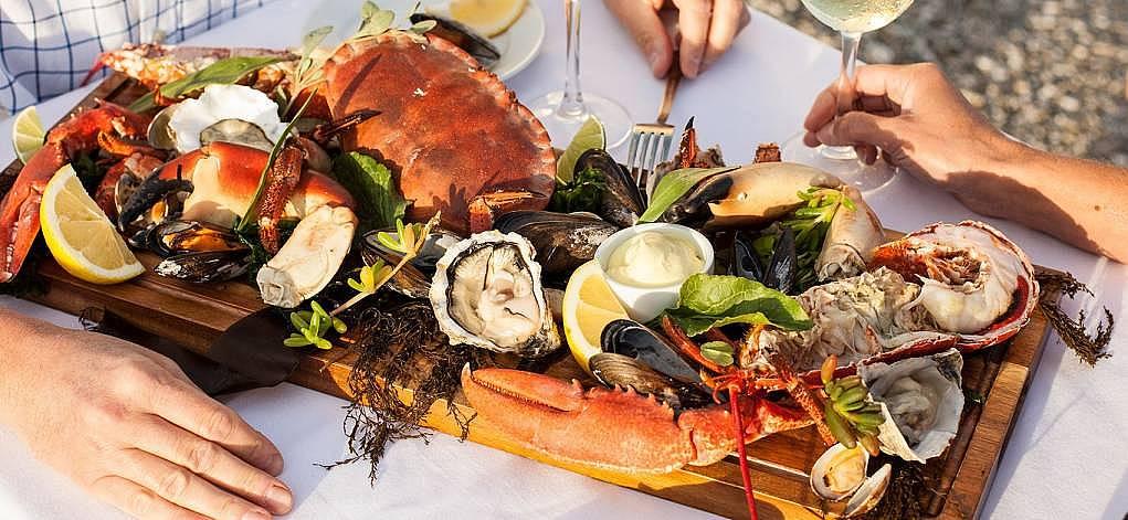 3. Deniz yemekleri mi? Mmm enfes!