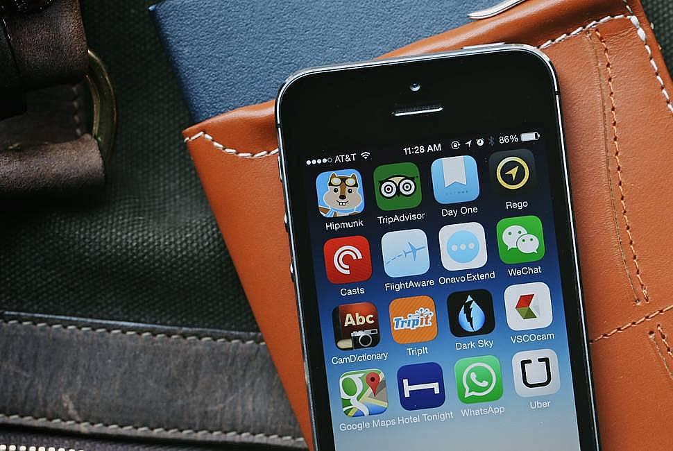 14. Telefonunuza seyahat uygulamaları indirin.