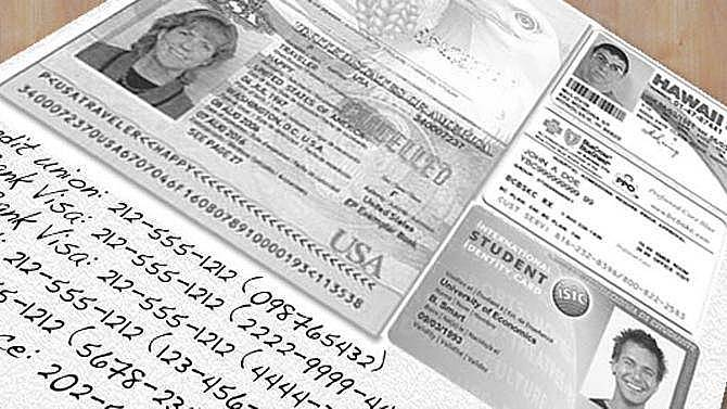 2. Pasaportunuzun kopyalarını çıkartın.