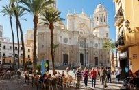 İspanya'nın Cadiz Şehrinde Erasmus