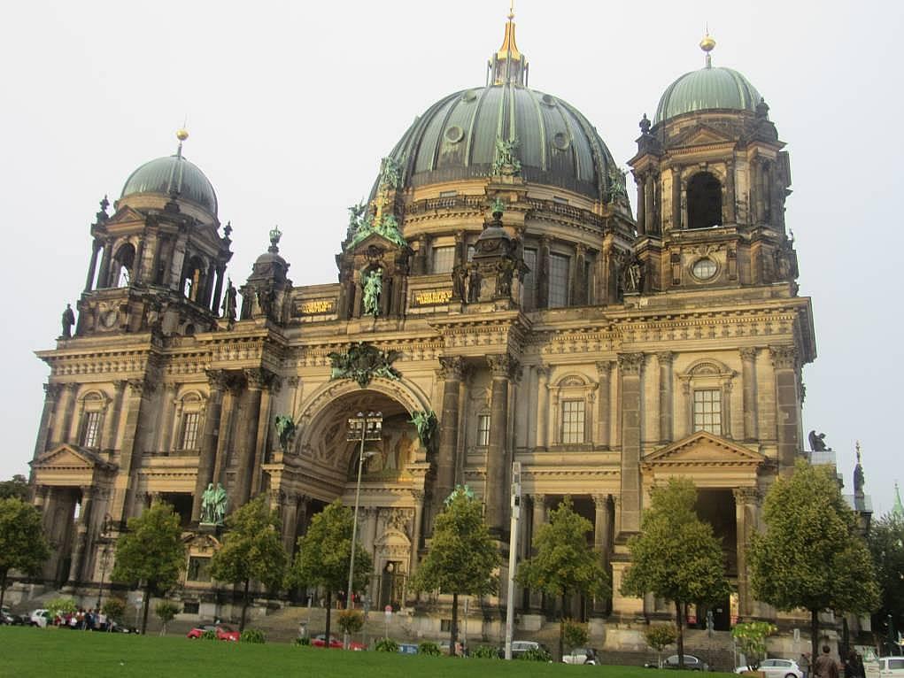 11. Bir mimari şaheser, Berlin Katedrali.