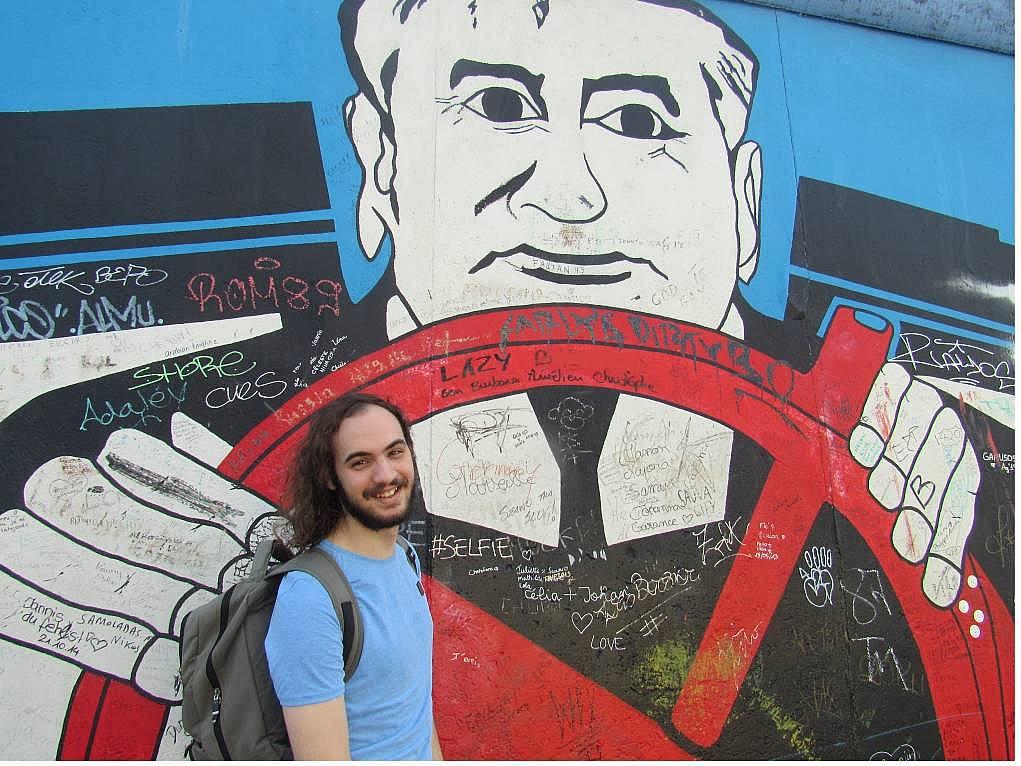 18. Ve o meşhur duvar ''Berlin Duvarı'' (East Side Gallery).