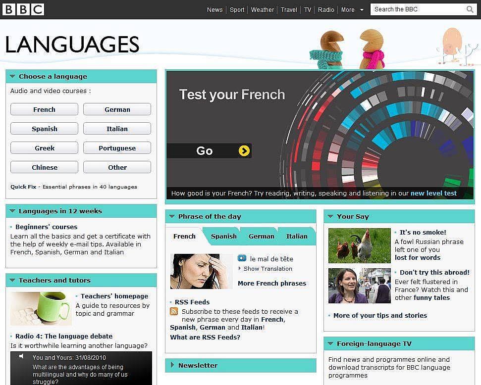 3. BBC Languages