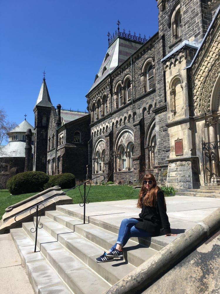 7. Beni hüsrana uğratıp hayallerimden vazgeçiren okul: Toronto Üniversitesi