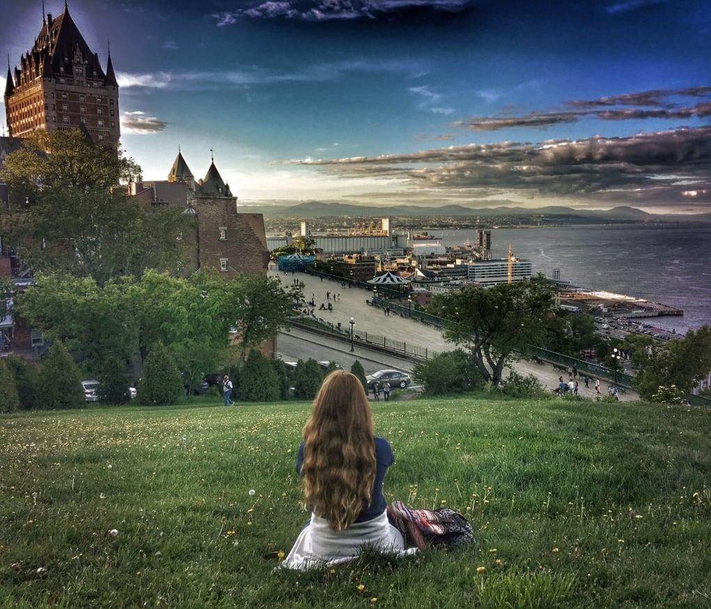 12. Quebec'te kendimi farklı ülkede hissettim.