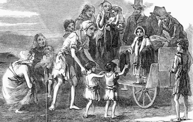 2. İrlanda nüfusu hala Büyük Kıtlık'taki nüfusa ulaşabilmiş değil.