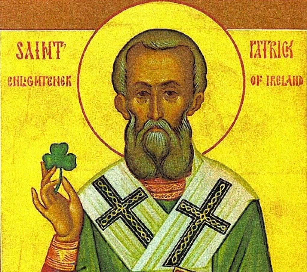 1. St. Patrick aslında İrlandalı değil!