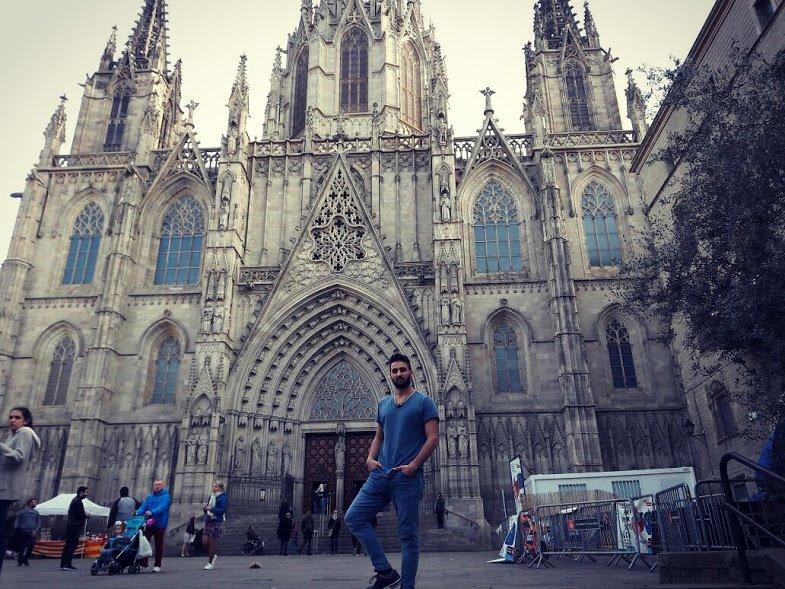 3. Catedral De Barcelona'da özgürlüğü yaşayın.