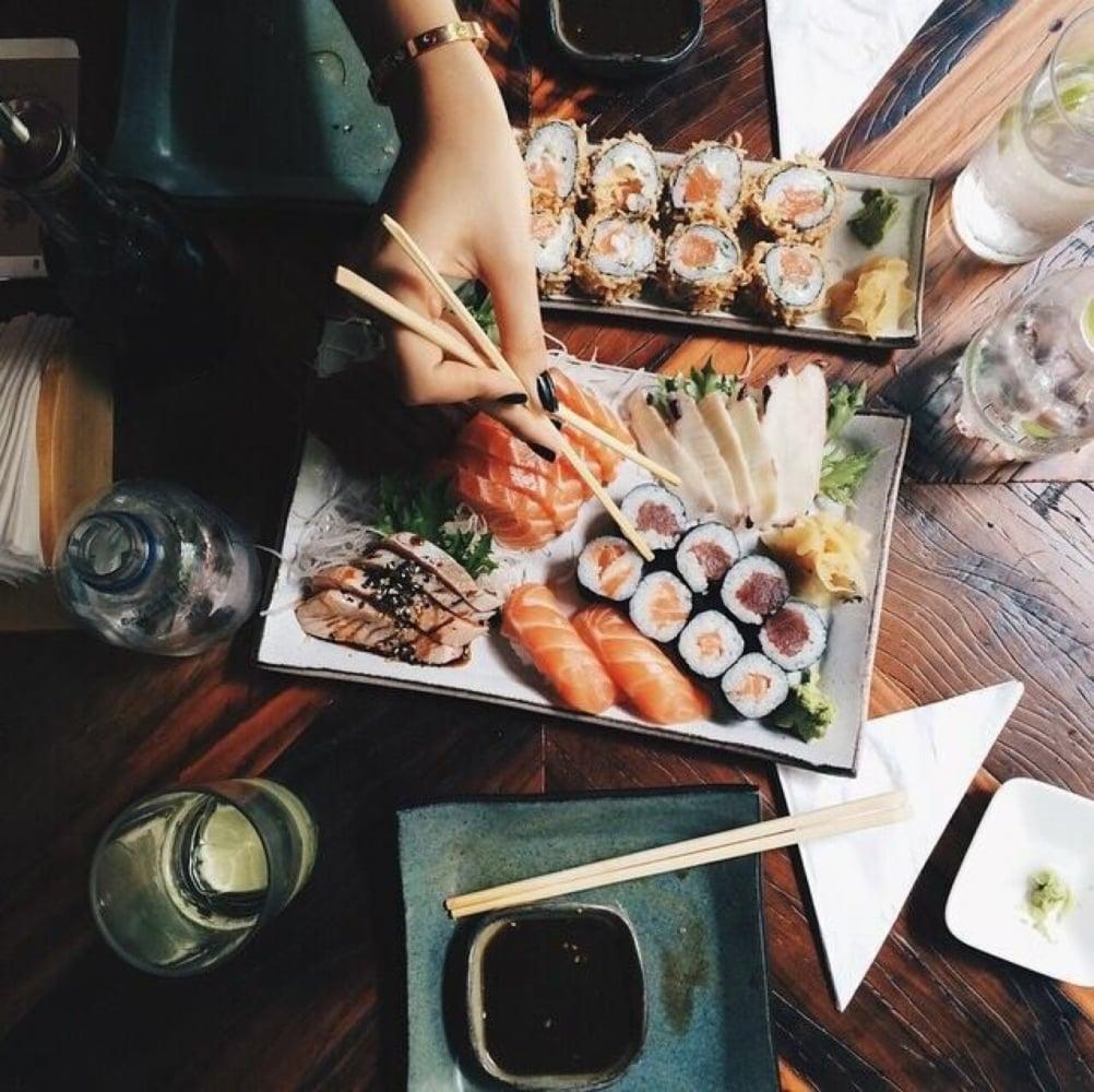 1. Japonya'dan gelen bir lezzet; Sushi!