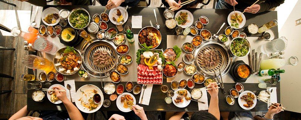 2. Güney Kore'den bir BBQ alırız!