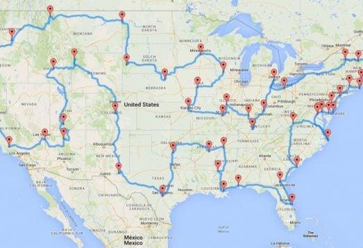 Uzmanlara Göre Amerika'da Yol Gezisi Yapabileceğiniz En İyi Rota!