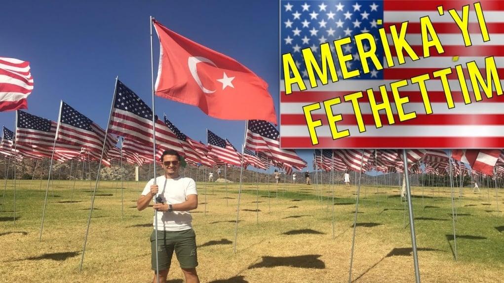Amerika'ya Türk Bayrağını Diktim | Arabaya Servis Burger | Los Angeles