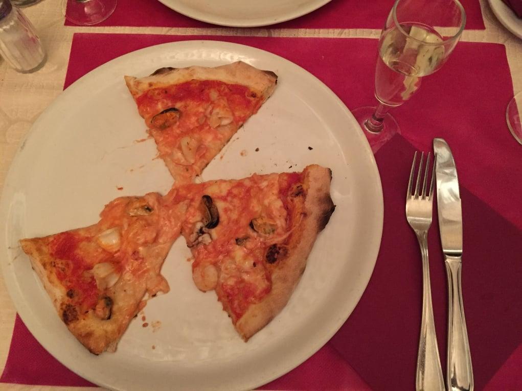 3. İtalya / Roma'da pizza günü!