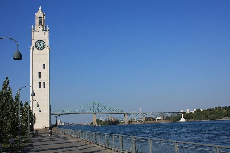 8. Montreal Old Port Saat Kulesi / Kanada