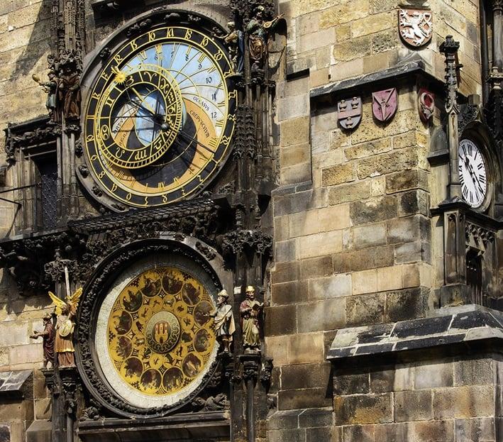 10. Prag Astronomik Saat Kulesi / Çek Cumhuriyeti