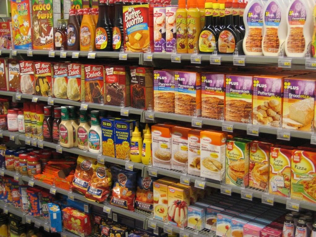 6. Gıda ürünlerindeki çeşitlilik çok fazladır.