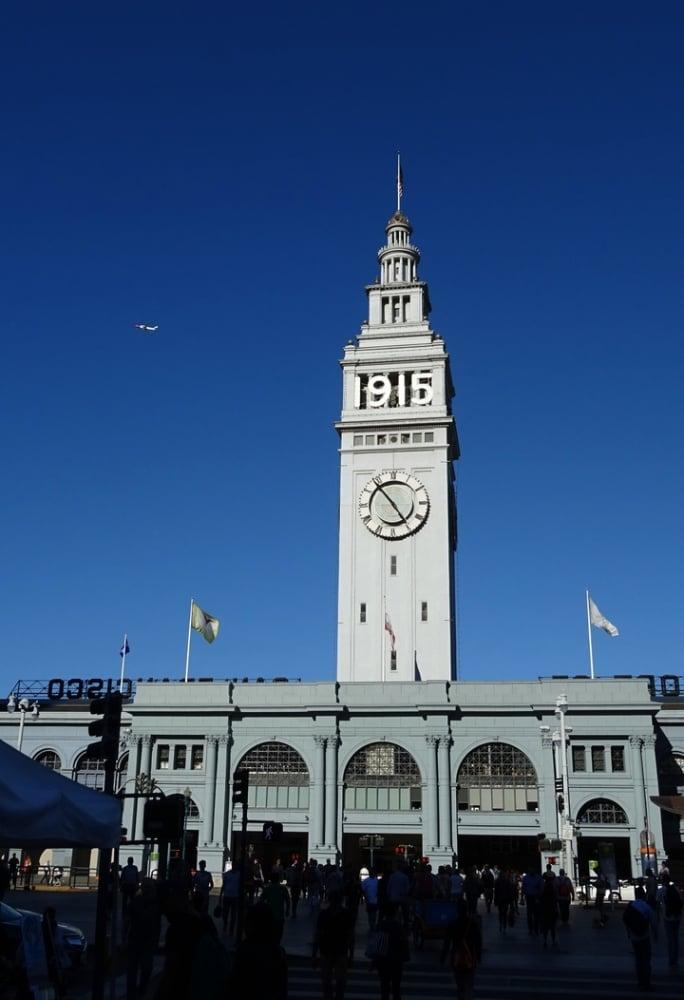9. San Francisco Feribot Binası Saat Kulesi / ABD