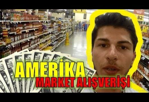Amerika'da Market Fiyatları! Haftalık Alışverişim