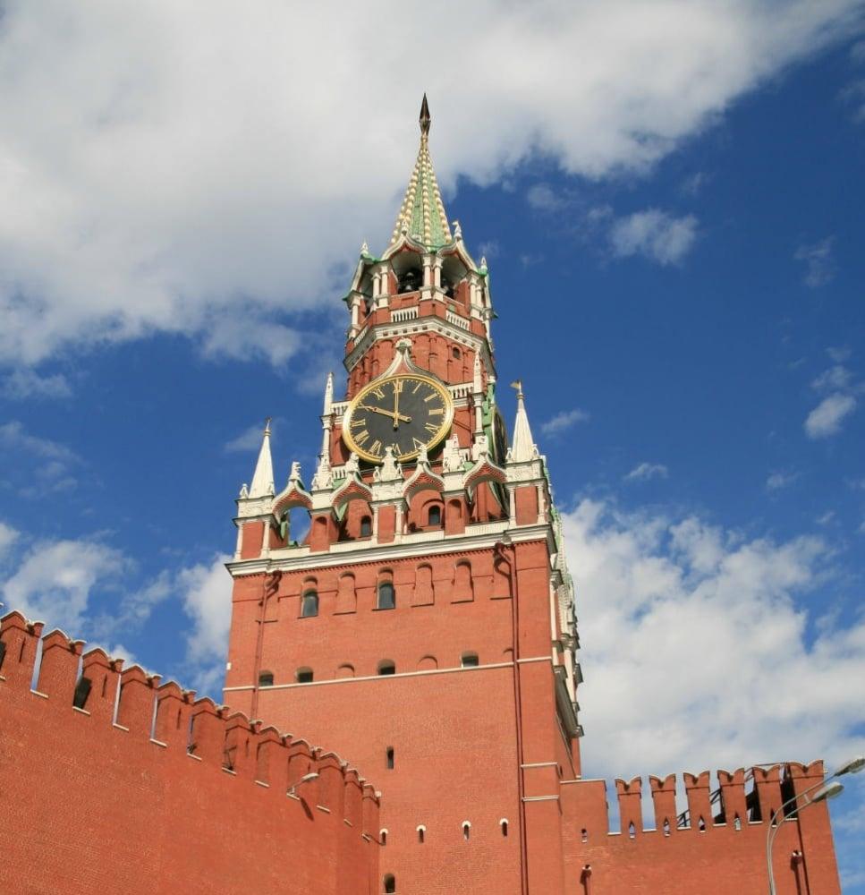 6. Spasskaya Kulesi / Moskova, Rusya