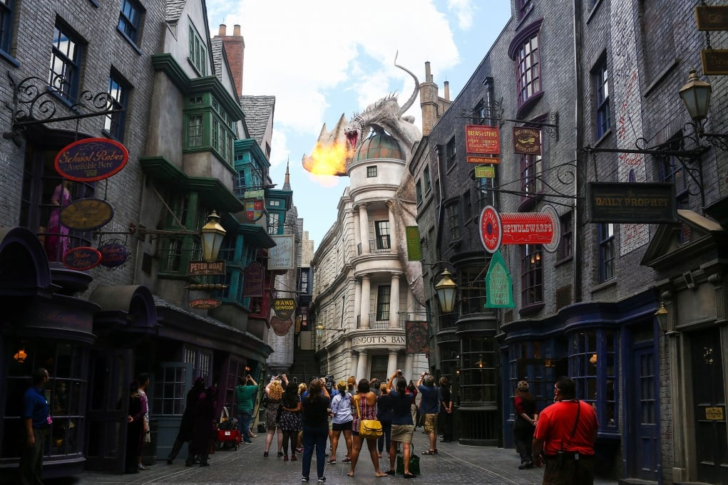 20. The Wizarding World of Harry Potter, Orlando - Los Angeles