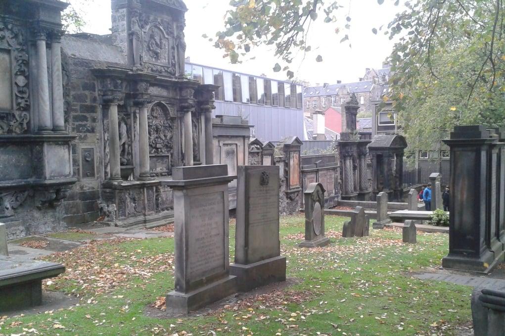18. Greyfriars Kirkyard, Edinburgh