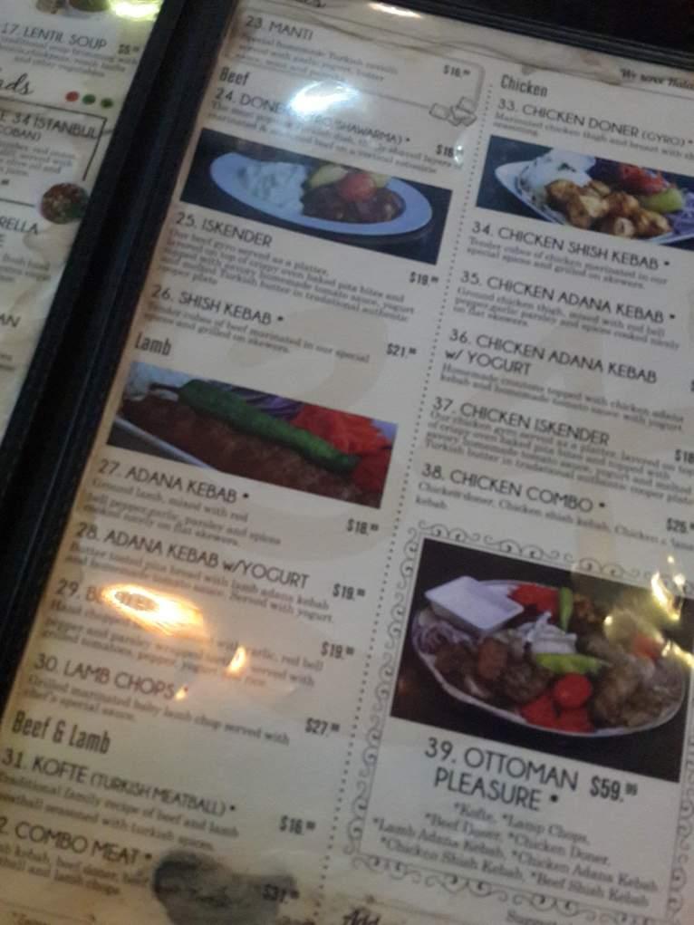 5. Amerika'da Türk restoran fiyatları yüksek. Peki buna değer mi?