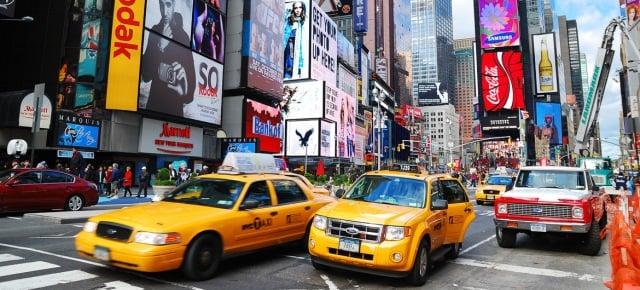 5. New York'ta bir taksi plakası satın almanın bedeli yaklaşık 1 milyon dolar.