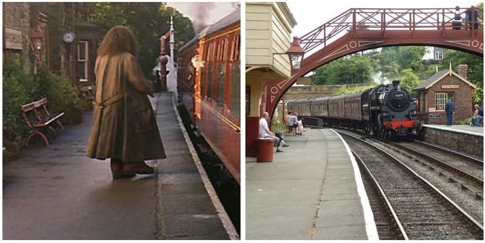 3. Goathland Tren İstasyonu, North Yorkshire