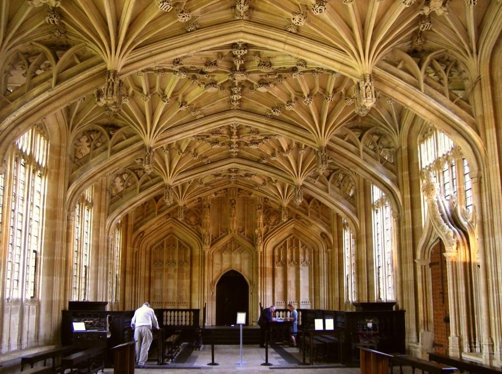 13. Divinity School, Oxford
