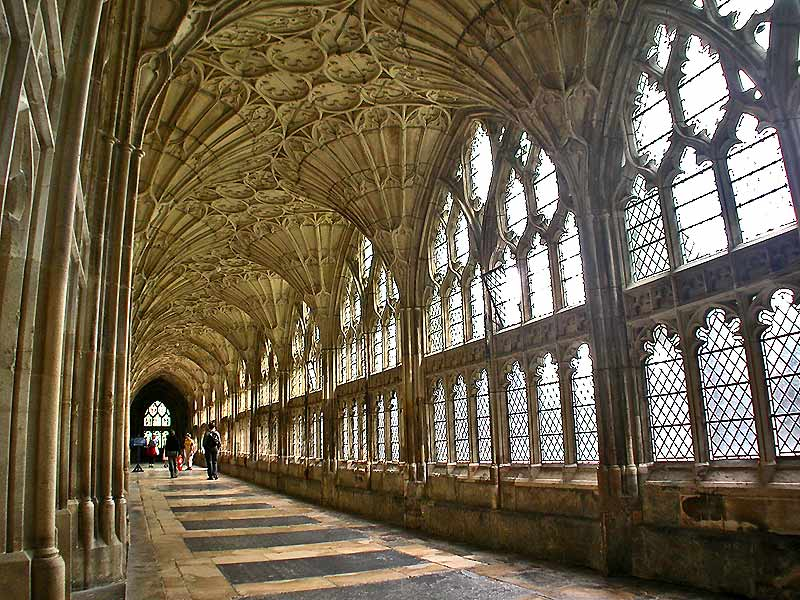 4. Gloucester Katedrali, Oxford