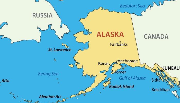 5. ABD Alaska'yı 1867'de sadece 7.2 Milyon dolar karşılığında Rusya'dan satın aldı.