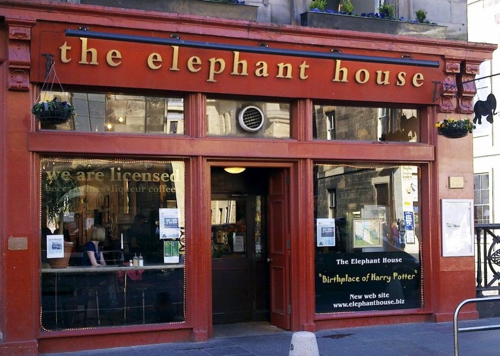7. The Elephant House, Edinburgh