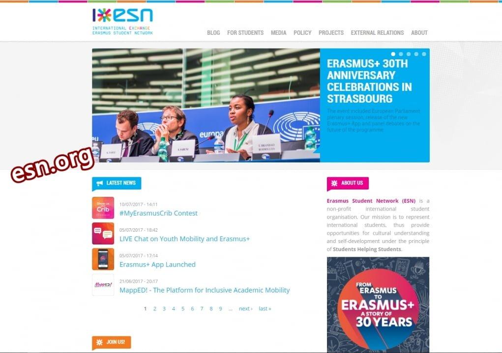 7. ESN ile en büyük öğrenci topluluğuna katıl.