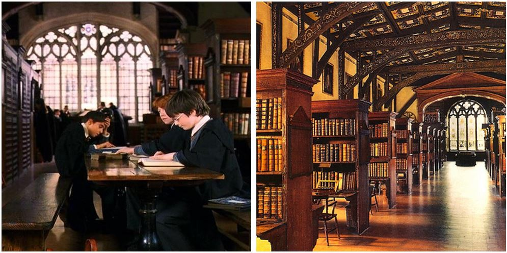 12. Duke Humphrey Kütüphanesi (Bodleian Library), Oxford
