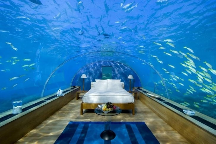 3. Hilton's Conrad Maldives Rangali Island Resort - Maldivler