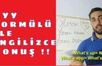 İngilizce Öğrenme ve Konuşma Becerisi için En İyi Formülü Açıklıyorum!