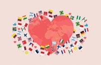 """20 Dilde """"Seni Seviyorum"""" Nasıl Denir"""