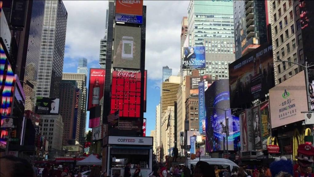 7. Amerika hayalimin en güzel parçası; New York!