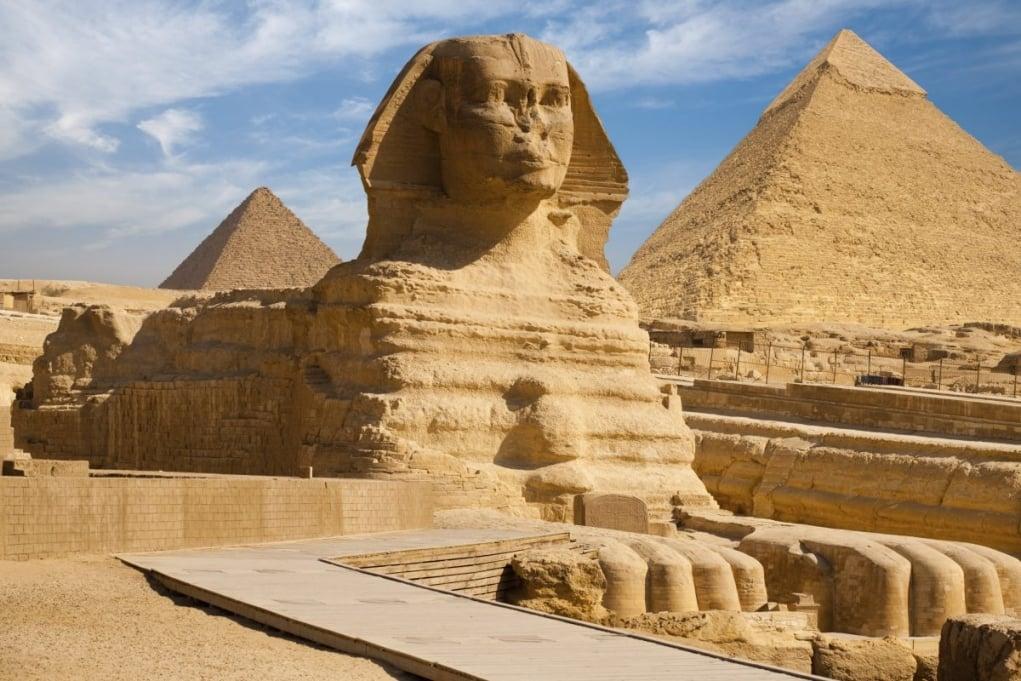 1. Sfenks Heykeli - Gize, Mısır